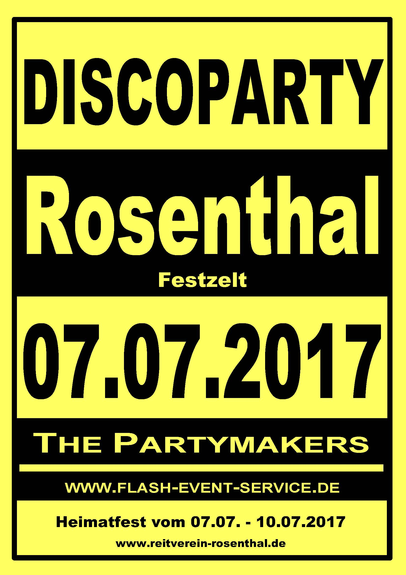 Discoparty Flyer